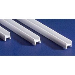 "Evergreen 284 14"" Styrene H-Column .125"" Pkg 3"