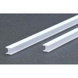 "Evergreen 287 14"" Styrene H-Column .250"""
