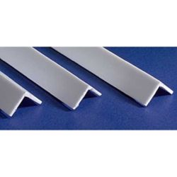"Evergreen 293 14"" Styrene Angles .100"" Pkg 4"