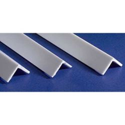 "Evergreen 297 14"" Styrene Angles .250"" Pkg 2"