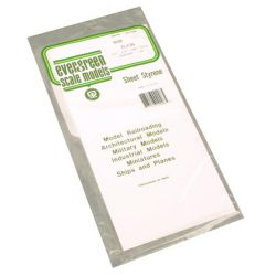 "Evergreen 9008 Styrene Sheet Plain 6 x 12"" Assortment"