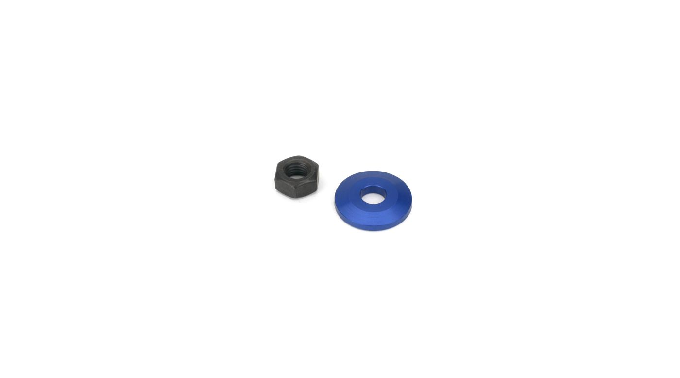 Image for Prop Washer & Nut: 1/4 x 28 from HorizonHobby