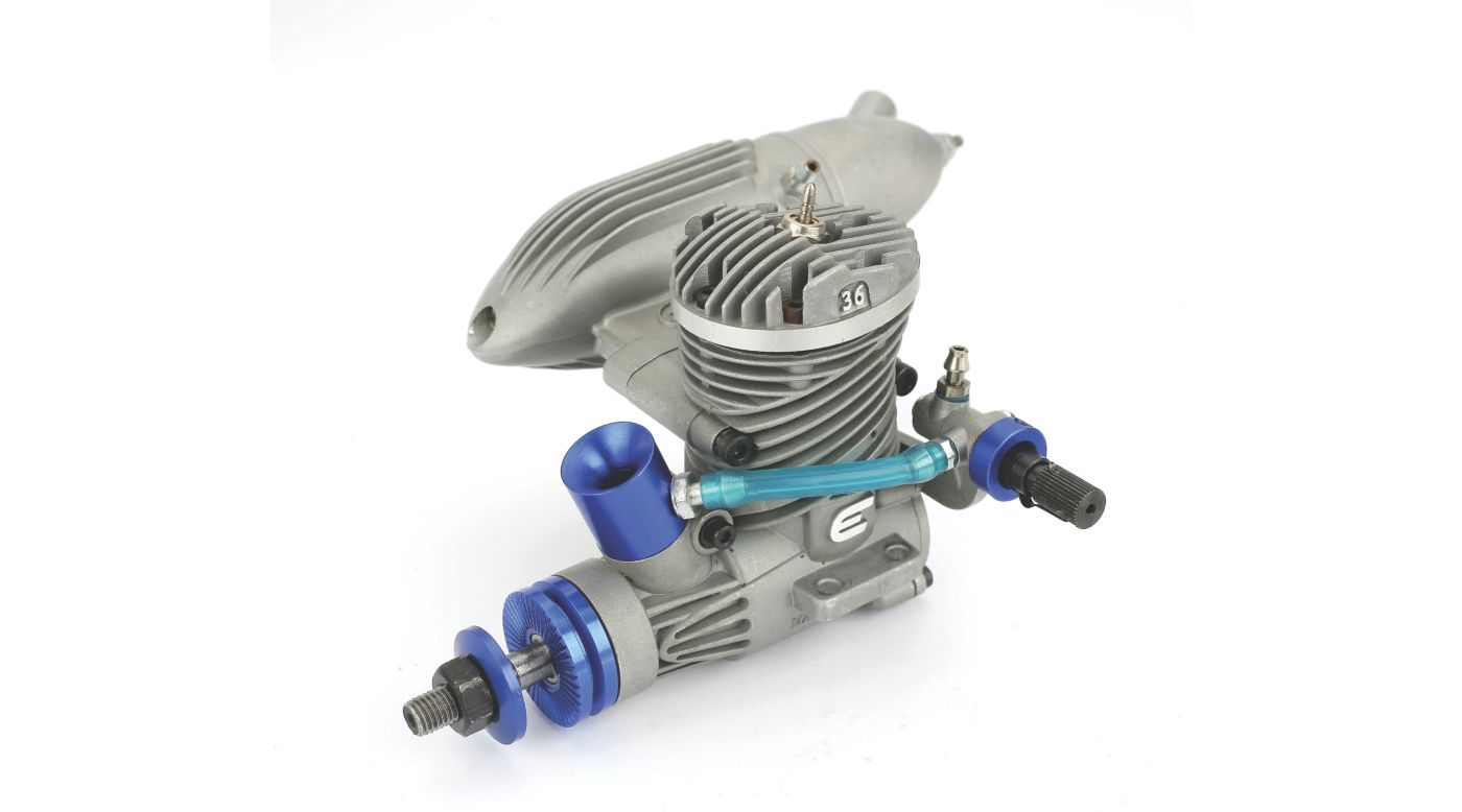 Image for Evolution .36 Control Line Engine with Muffler from HorizonHobby