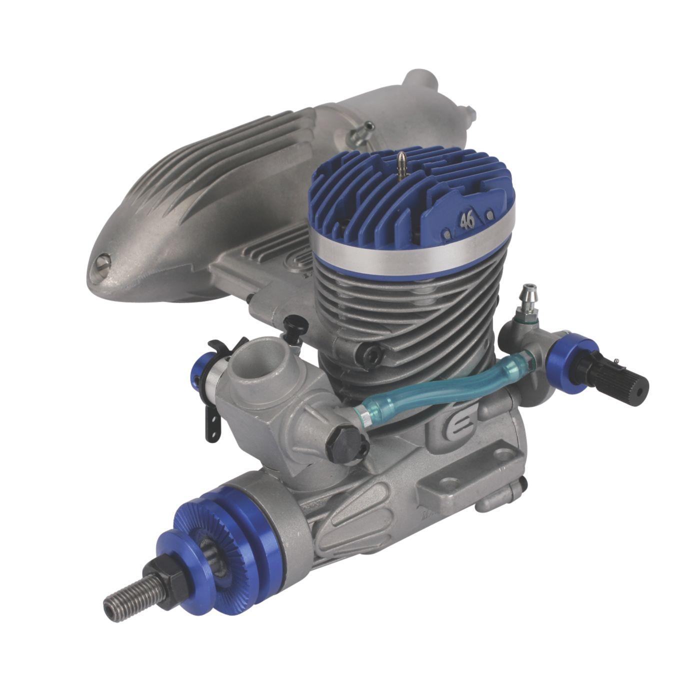 Evolution .46NX Glow Engine with Muffler | HorizonHobby