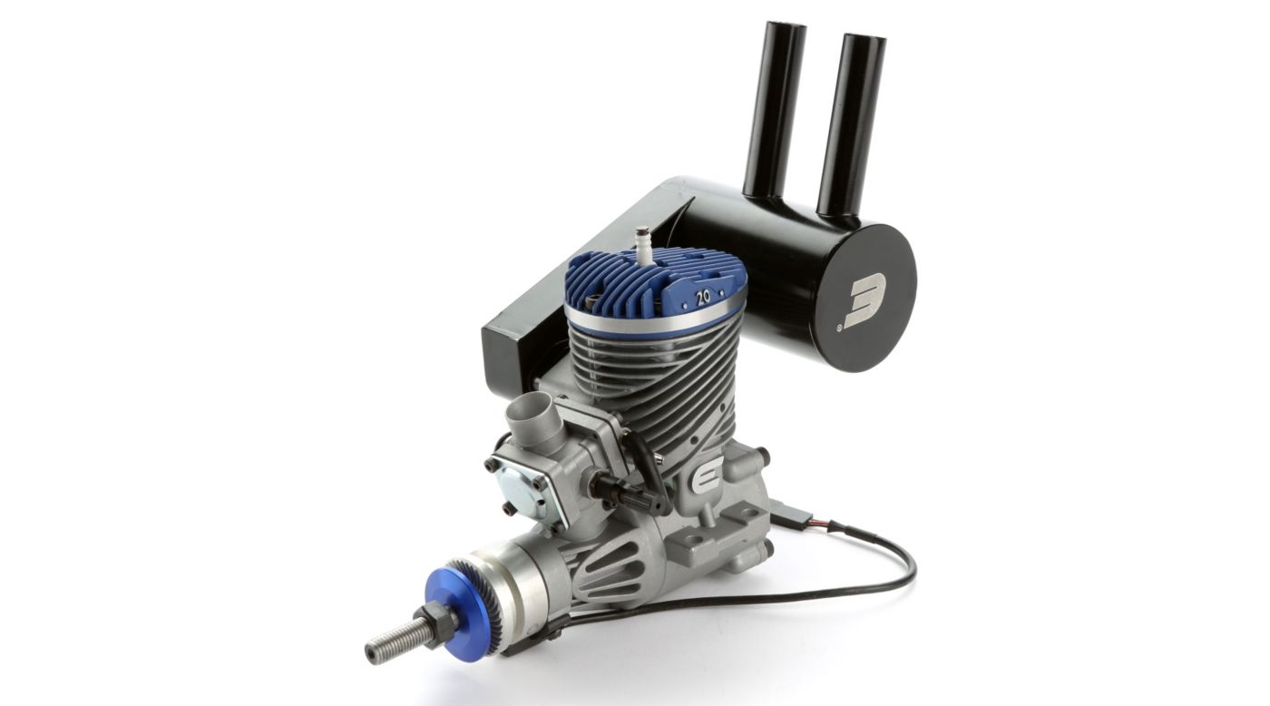 Image for 20GX 20cc (1.20 cu. in.) Gas Engine with Pumped Carb from HorizonHobby