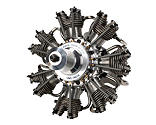 Evolution Engines - 7-Cylinder 77cc 4-Stroke Glow Radial Engine
