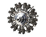 Evolution Engines - 9-Cylinder 99cc 4-Stroke Glow Radial Engine