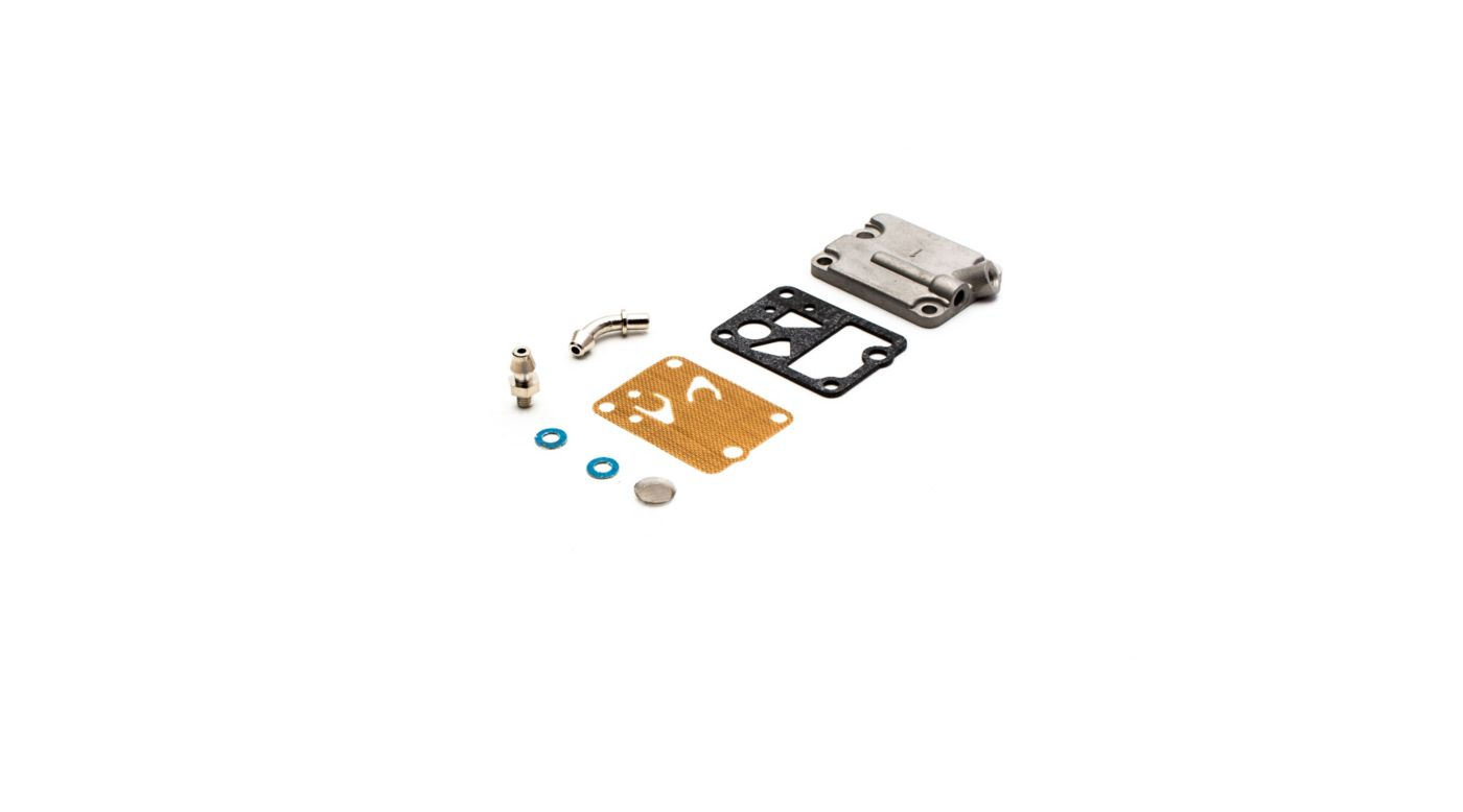 Image for Carburetor Pump Case Parts: 15GX, 20GX (with Pumped Carb) from HorizonHobby