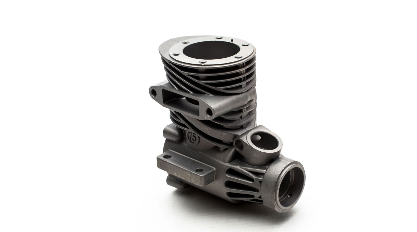 Image for Crankcase with Index Pin: 15GX2 from HorizonHobby