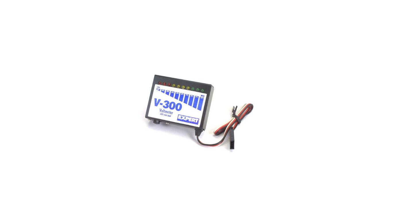 Image for V-300 LED Voltmeter from HorizonHobby