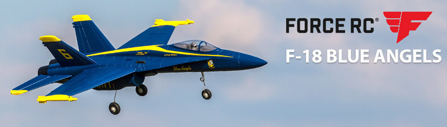 Force RC F-18 Blue Angel