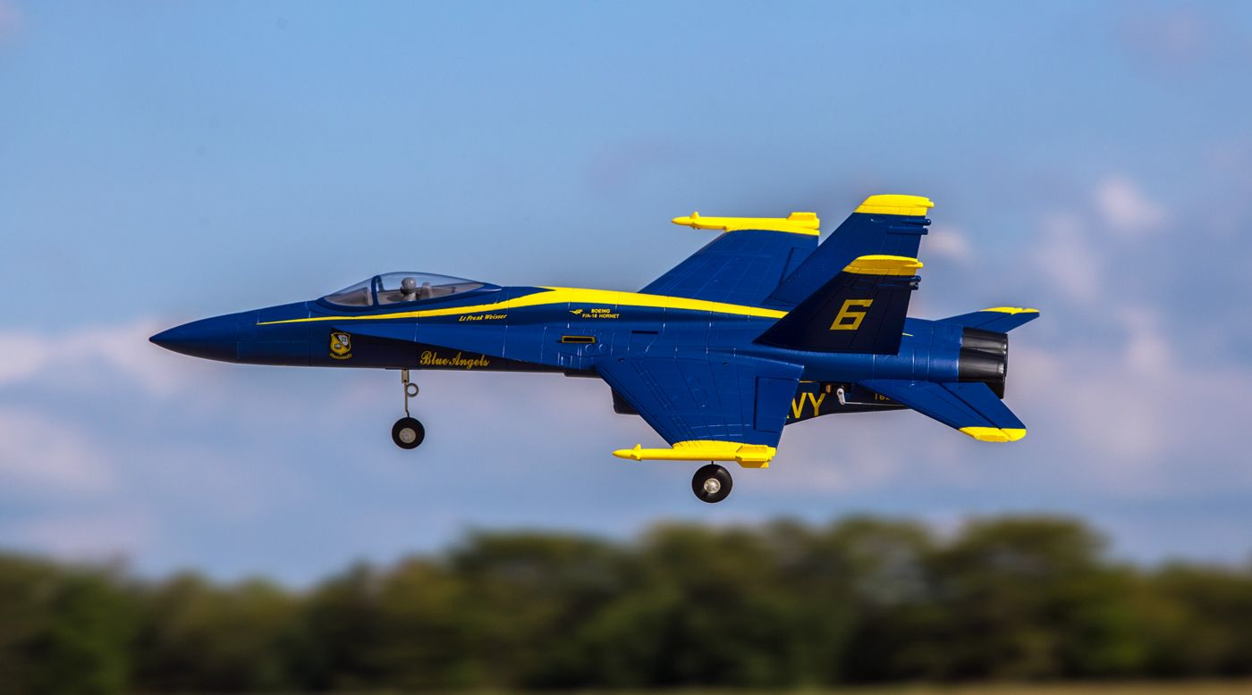 F 18 Blue Angels V2 Pnp 64mm Edf Jet Horizonhobby Class Size Rc Electric 6 Channel 3d Rtf Helicopter The Exceedrc G2 Image For From