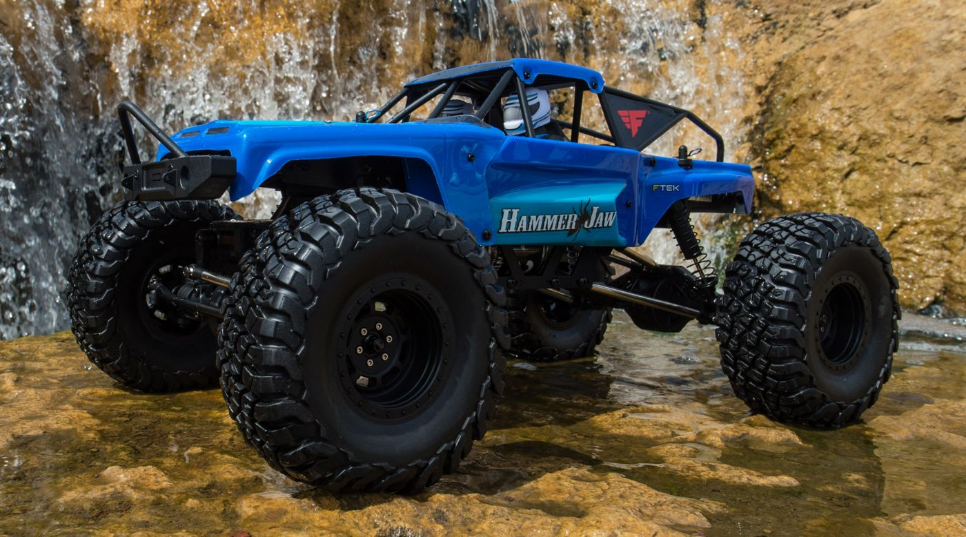 Force RC 1/10 Hammerjaw 4WD Rock Bouncer Brushed RTR