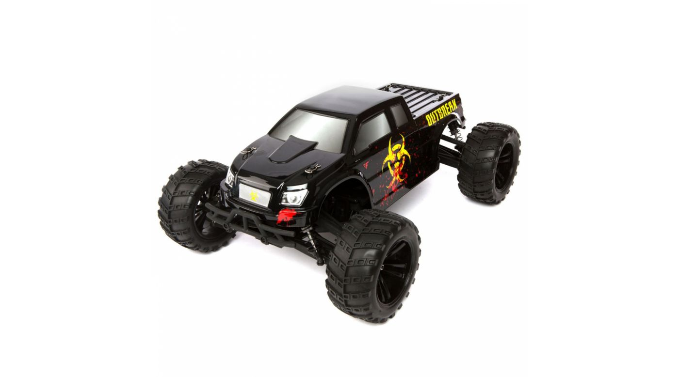 Image for 1/10 Outbreak 4WD Monster Truck RTR: Black from HorizonHobby