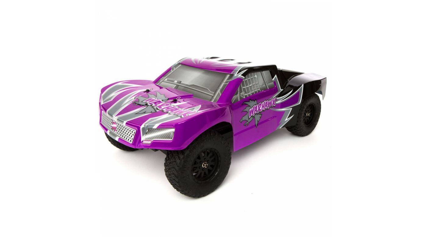Image for 1/10 Warhawk 4WD Short Course Truck RTR: Purple/Black from HorizonHobby