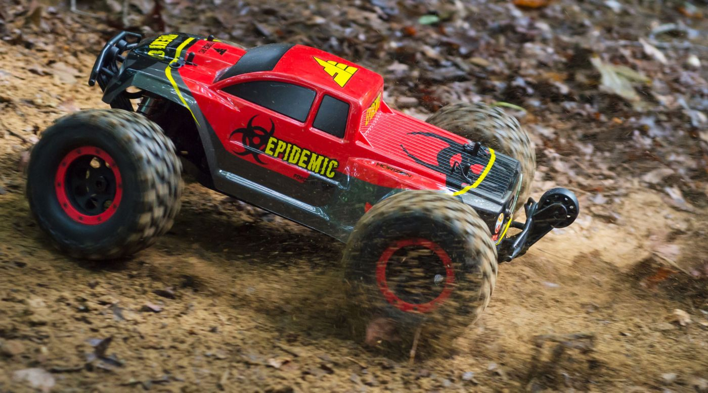 Image for 1/8 Epidemic 4WD Monster Truck Brushless RTR from HorizonHobby