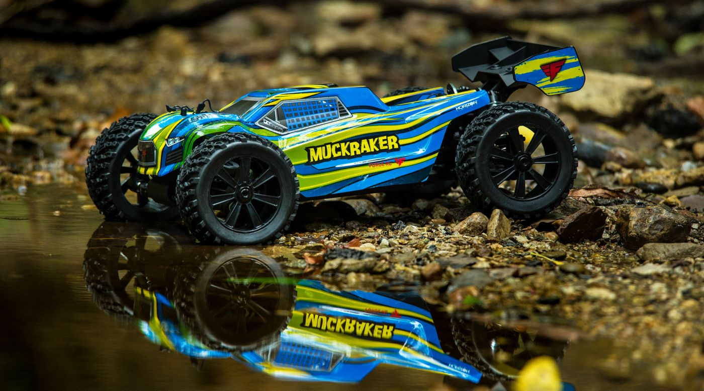 Image for 1/8 Muckraker 4WD Truggy Brushless RTR from HorizonHobby