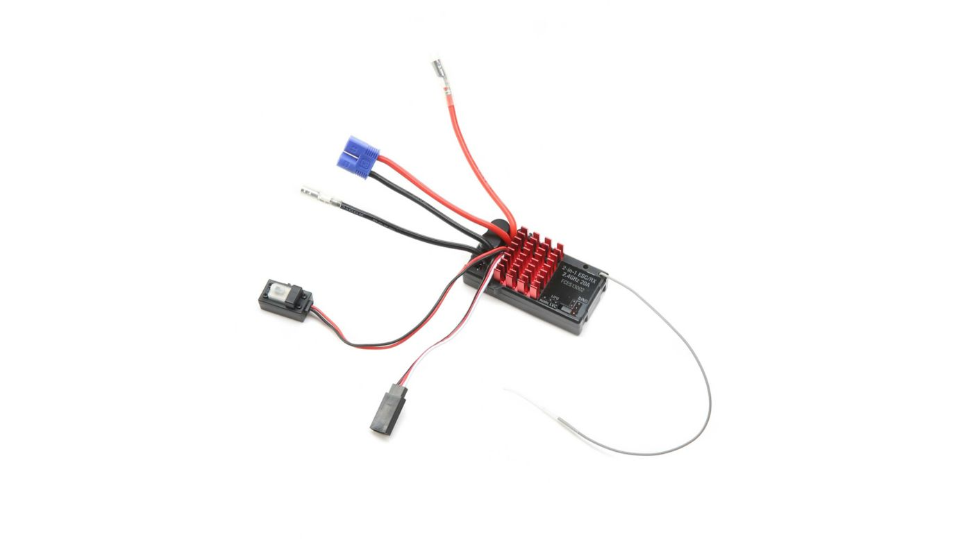 Image for 2.4GHz ESC/Receiver, WP: Hammerjaw from HorizonHobby
