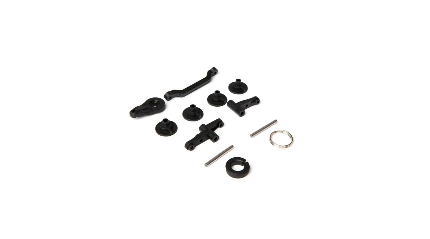 Image for Servo Saver Set with Bell Crank and Posts: 1/10 4wd All from HorizonHobby