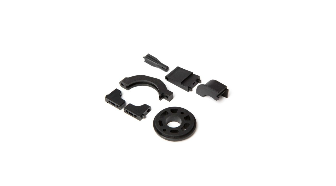 Image for Motor Mount Servo and Batt Post Set: 1/10 4wd All from HorizonHobby
