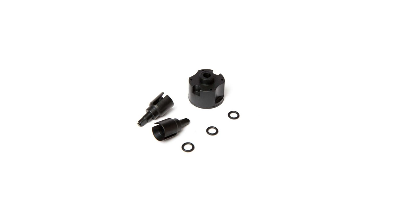 Image for Front/Rear Diff Cases and Outdrive Set (2): 1/10 4wd All from HorizonHobby