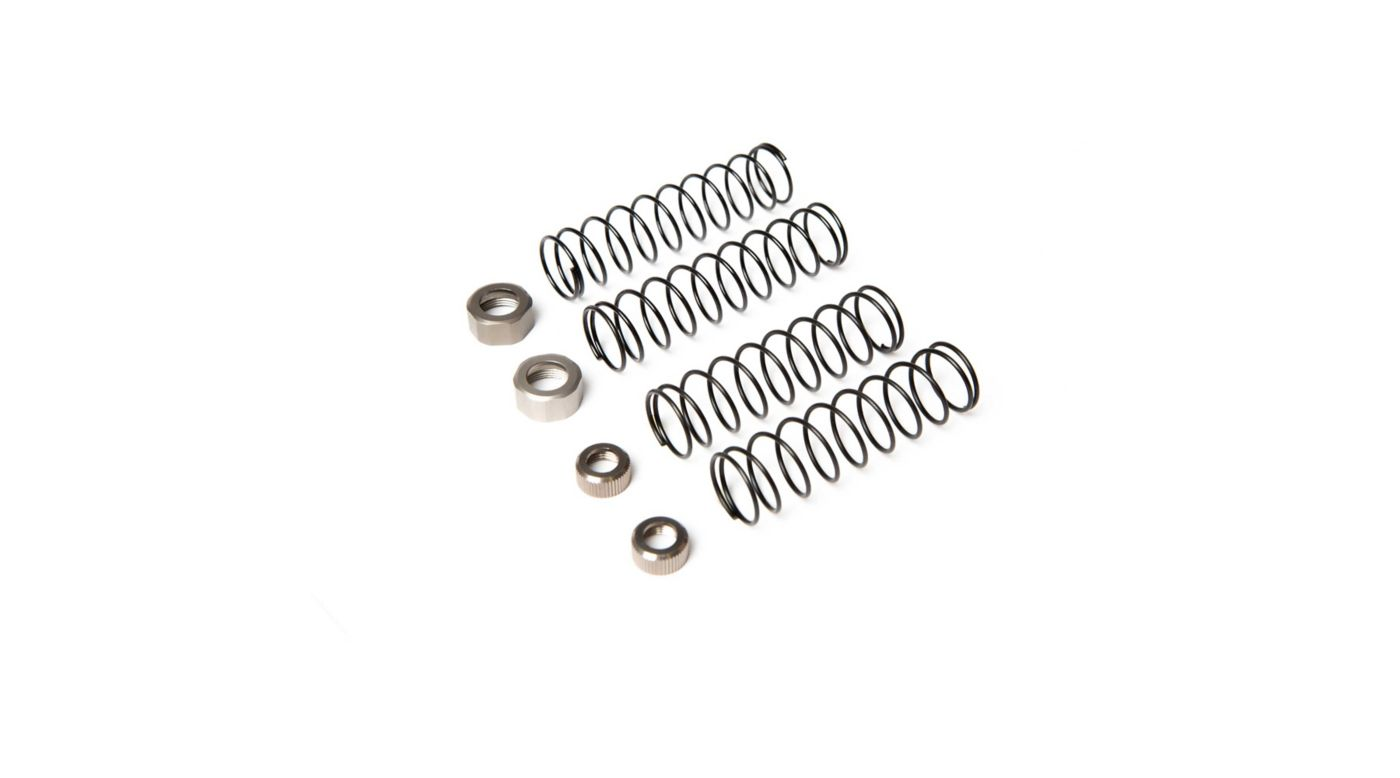 Image for Shock Spring Cap Set: 1/10 4wd All from HorizonHobby