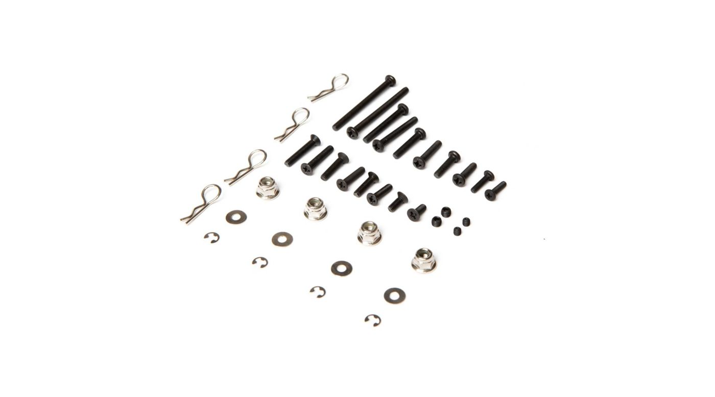 Image for Fastener Set 38pcs: 1/10 4wd All from HorizonHobby
