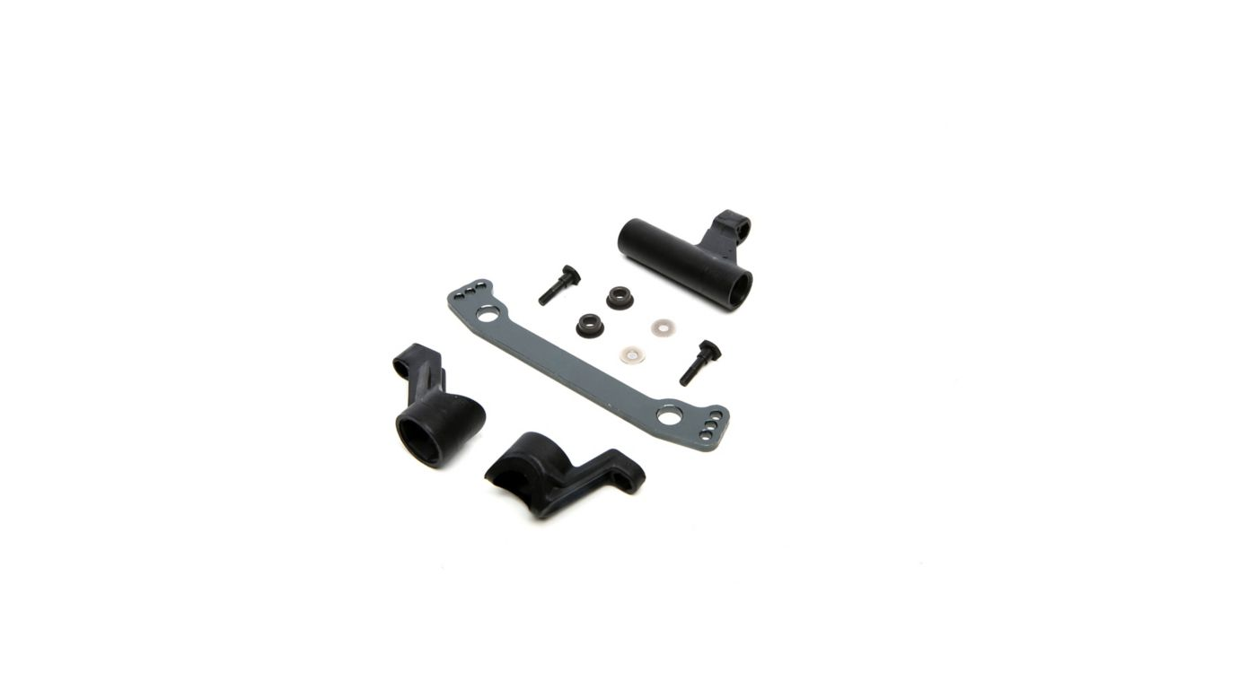 Image for Steering Bellcrank, Center Link and Pivot Screw Set: 1/8 Epidemic, 1/8 Muckraker from HorizonHobby