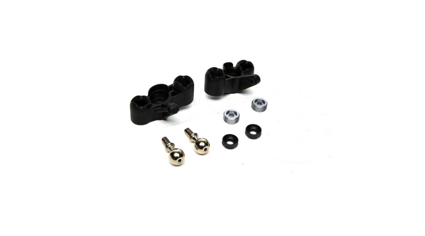 Image for Front Upright and Pillow Ball Set: 1/8 Epidemic, 1/8 Muckraker from HorizonHobby