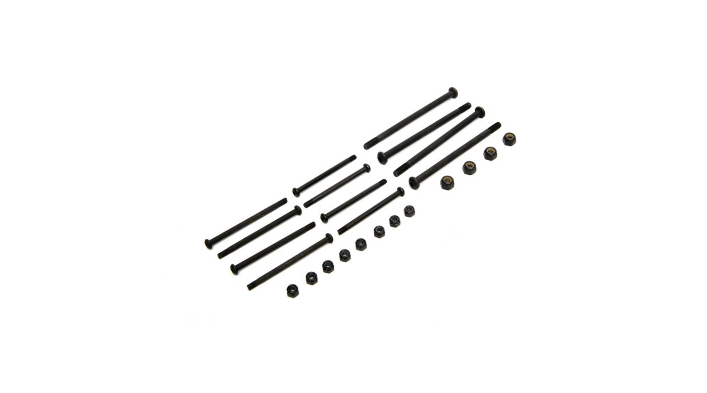 Image for Hinge Pin Set with Nuts: 1/8 Epidemic, 1/8 Muckraker from HorizonHobby