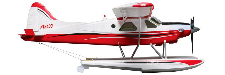 FlyZone DHC-2T Turbo Beaver 1.5m Rx-R