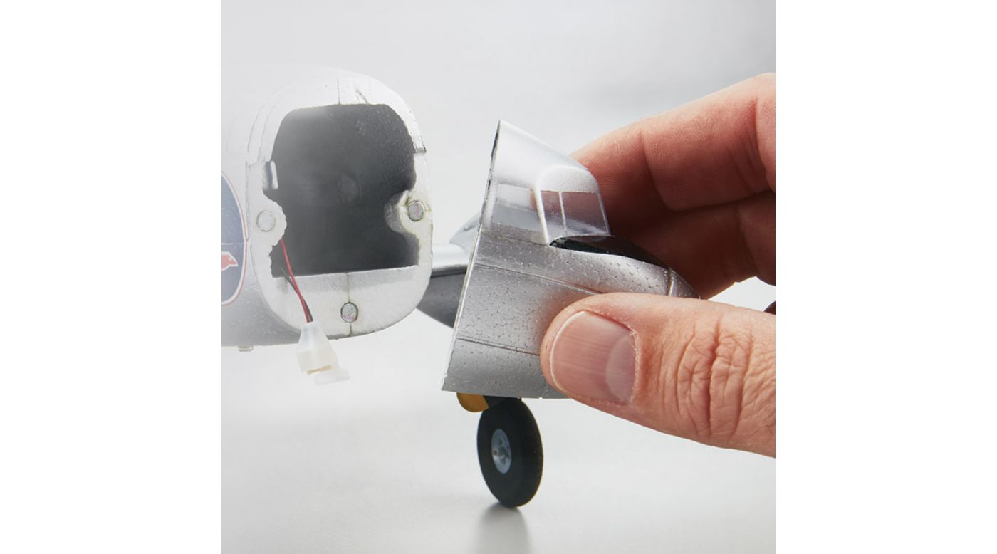 Image for Nose Cone: Micro EP DC-3 Airliner from HorizonHobby