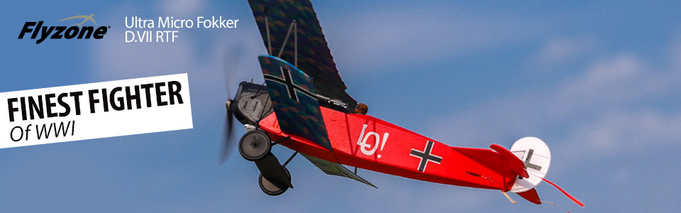 FlyZone® Ultra Micro Fokker D.VII