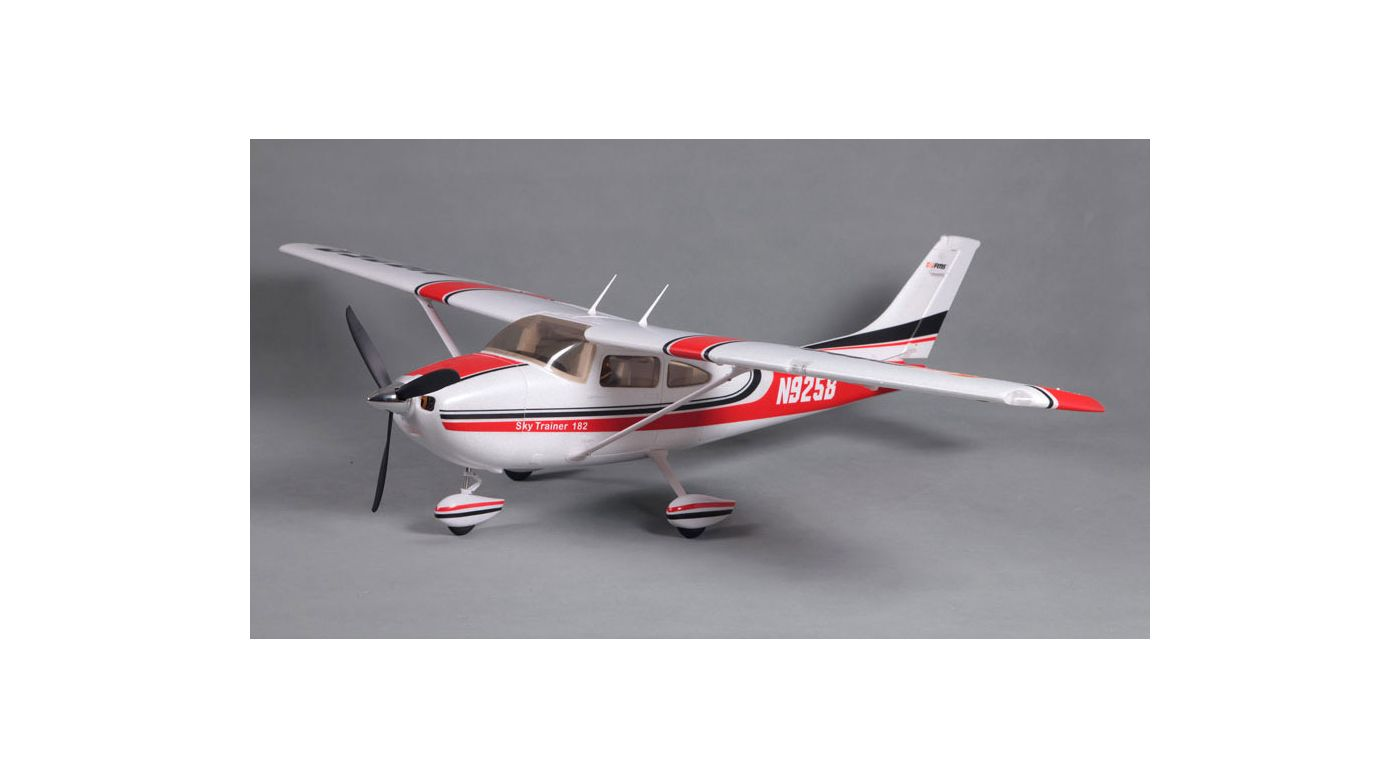 Image for Sky Trainer 182 PNP, 1400mm: Red from HorizonHobby