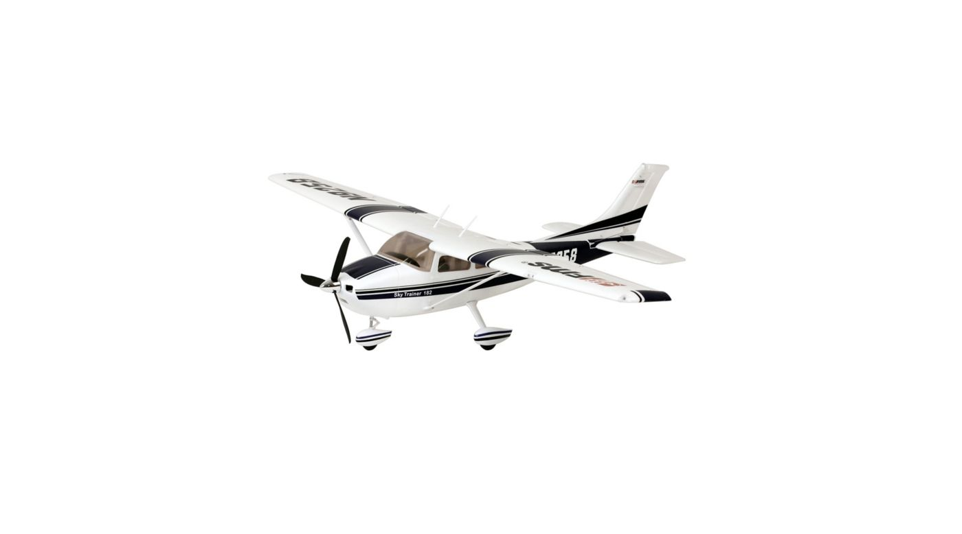 Sky Trainer 182 RTF, 1400mm: Blue | HorizonHobby