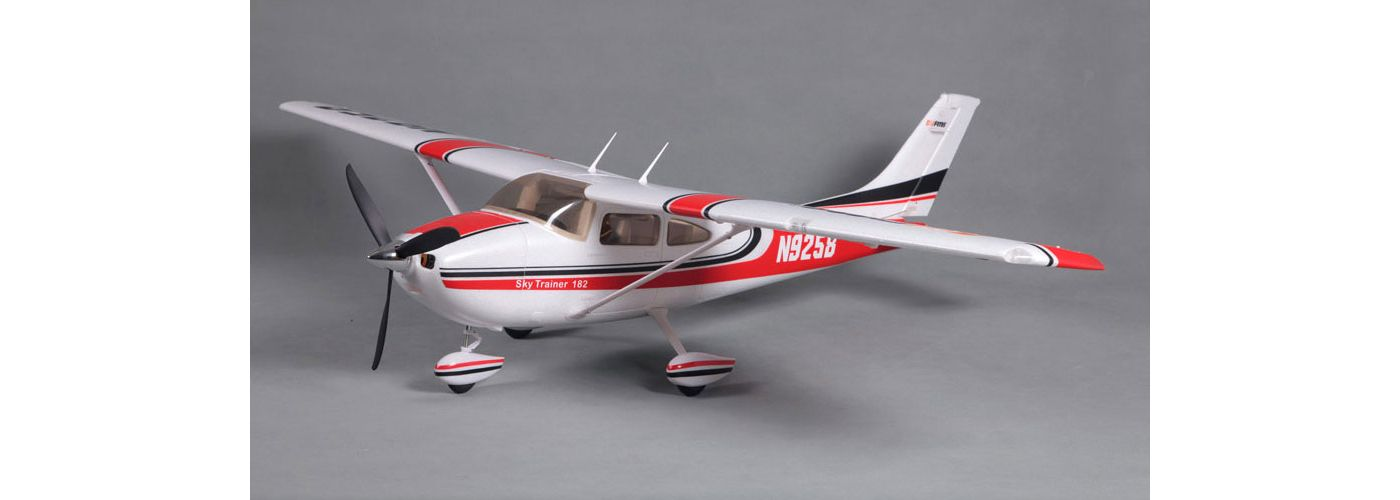 Sky Trainer 182 RTF, 1400mm: Red