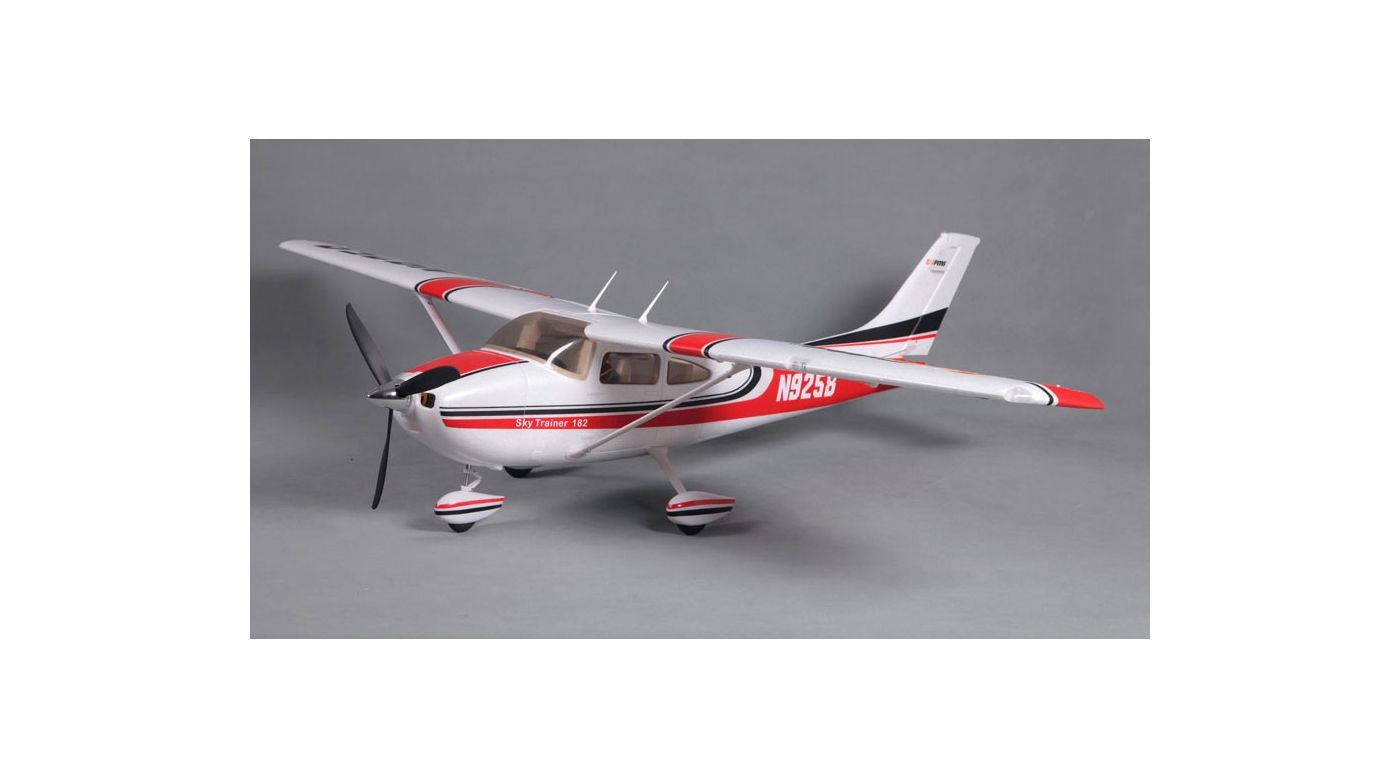 Image for Sky Trainer 182 RTF, 1400mm: Red from HorizonHobby