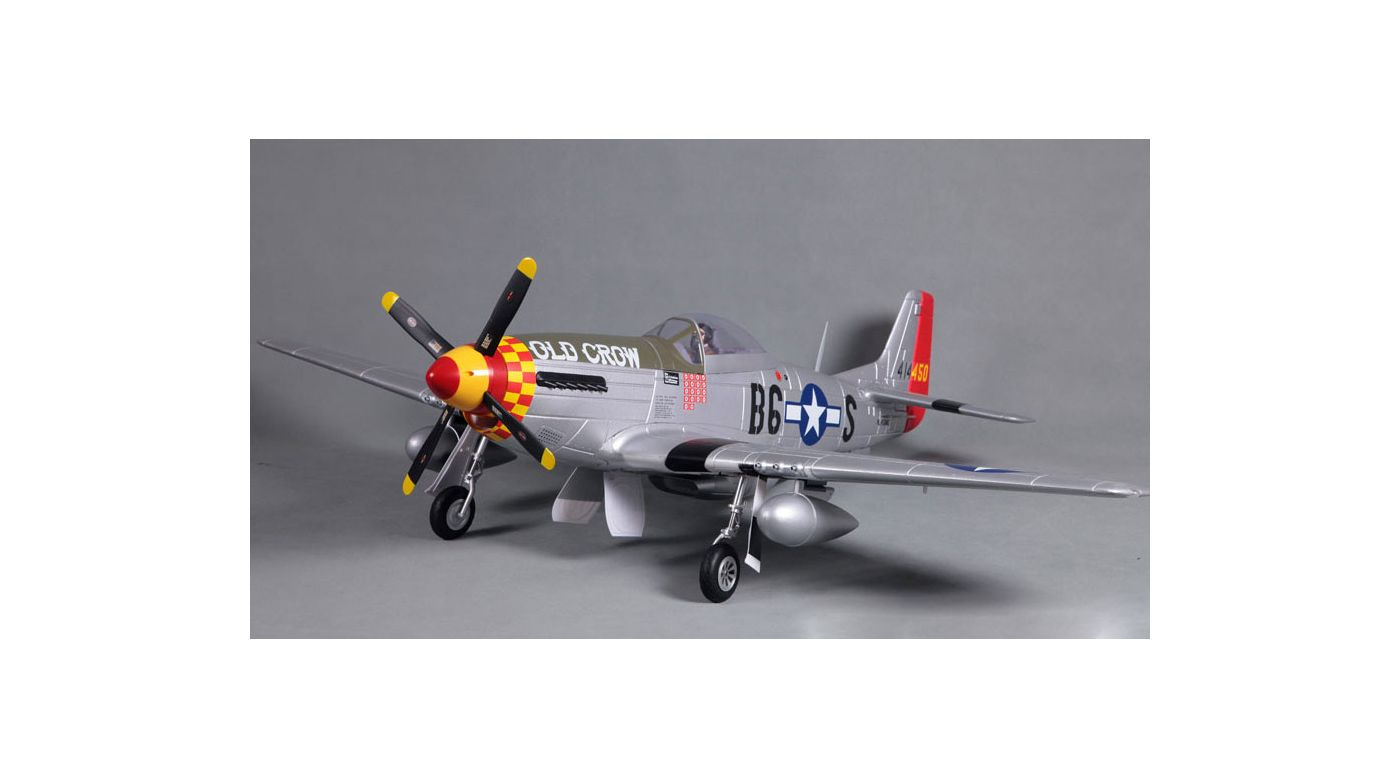 Image for P-51D V8 Old Crow PNP, 1450mm from HorizonHobby