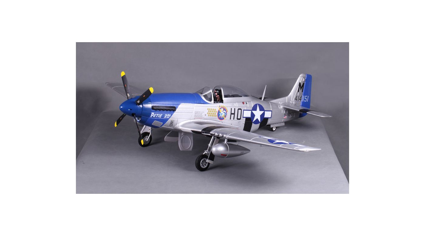 Image for P-51D Petie 2nd V8 PNP, 1450mm from HorizonHobby