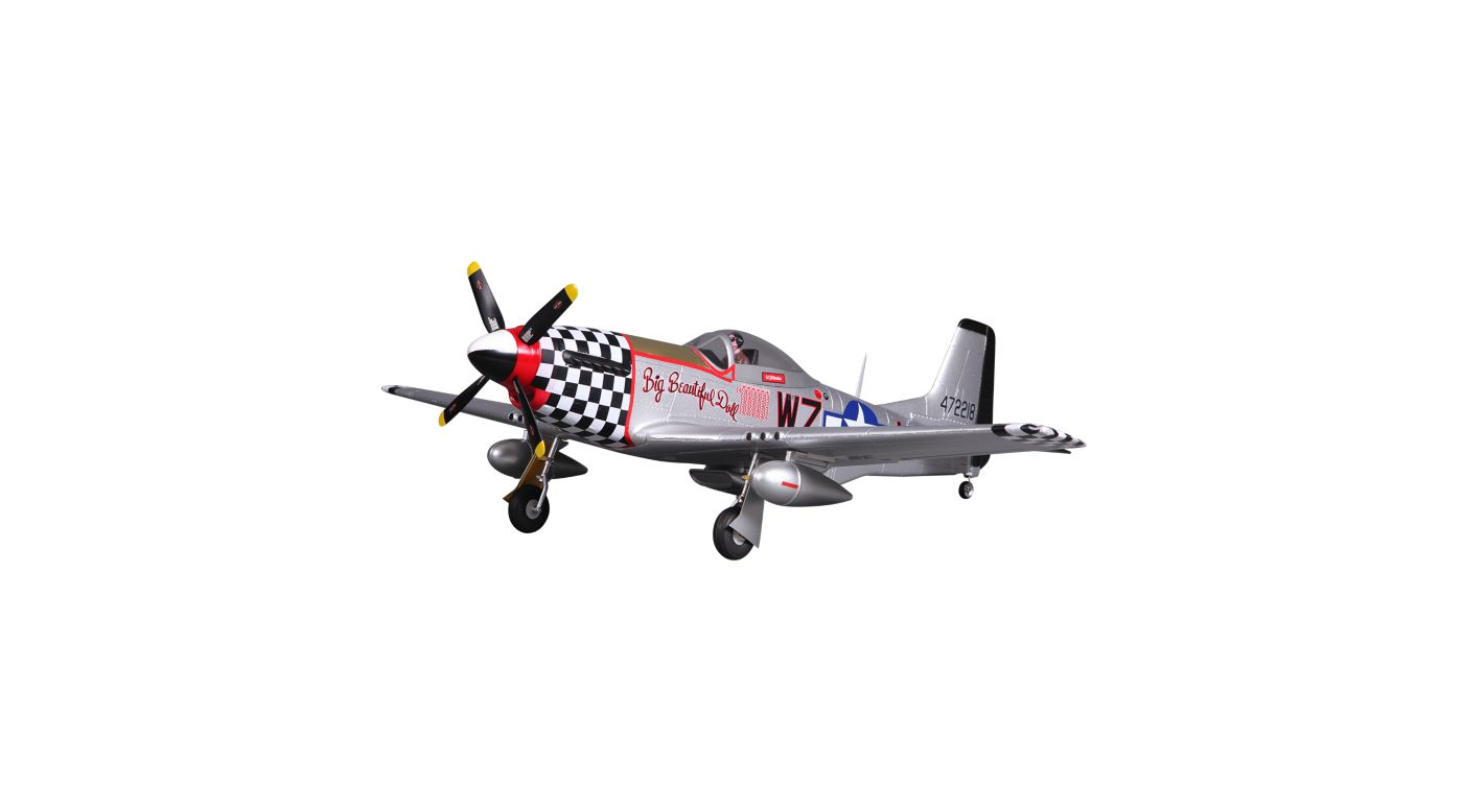 Image for P-51D V2 Big Beautiful Doll PNP, 800mm from HorizonHobby