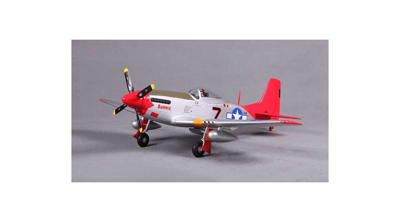 Image for P-51 Red Tail PNP, 800mm from HorizonHobby