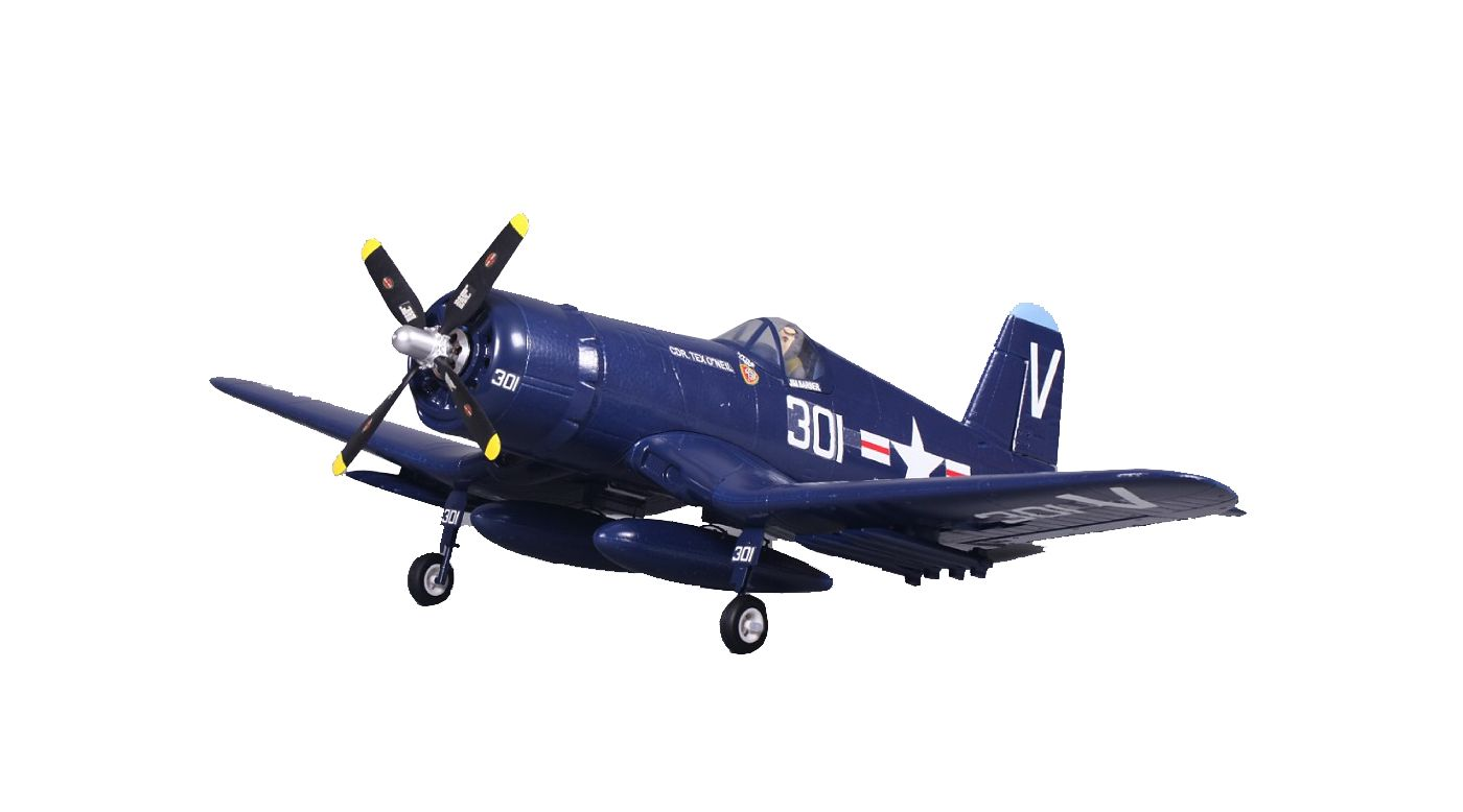 Image for F4U Corsair V2 Blue RTF, 800mm from Horizon Hobby