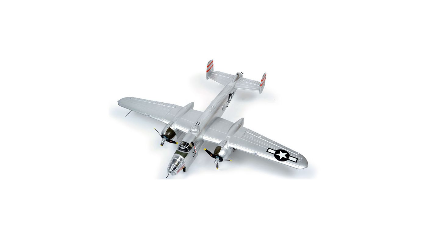 Image for B-25 Mitchell PNP, 1470mm: Silver from HorizonHobby