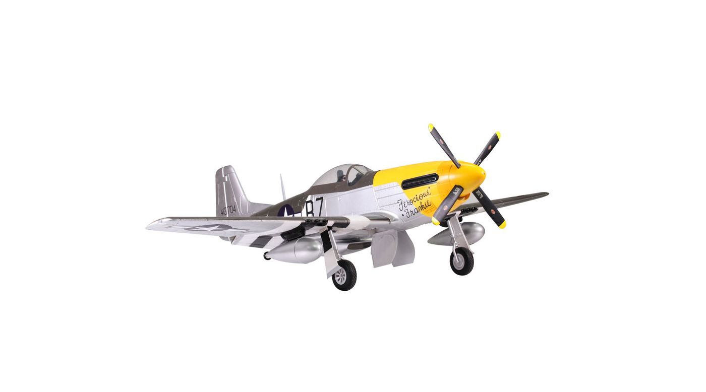 Image for P-51D Ferocious Frankie PNP, 1700mm from HorizonHobby