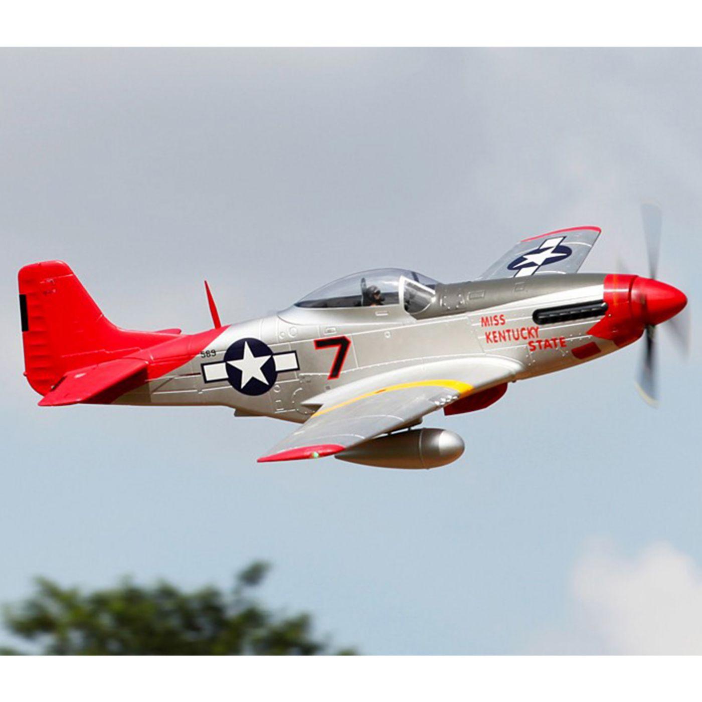 P 51d Red Tail Pnp 1700mm Horizonhobby