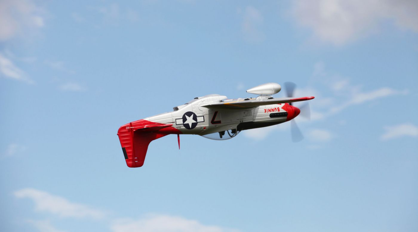 Image for P-51D Red Tail PNP, 1700mm from HorizonHobby