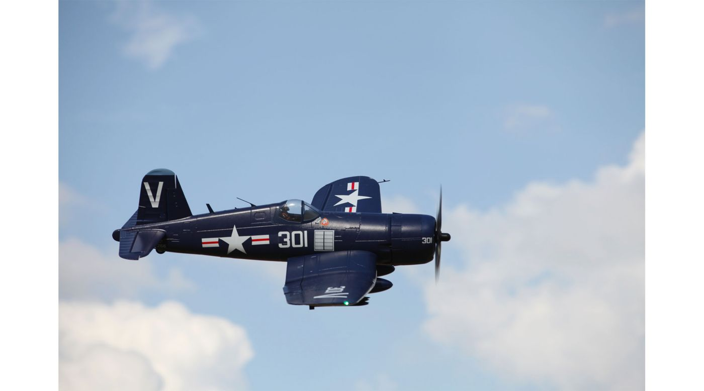 Image for F4U Corsair Blue PNP, 1700mm from HorizonHobby