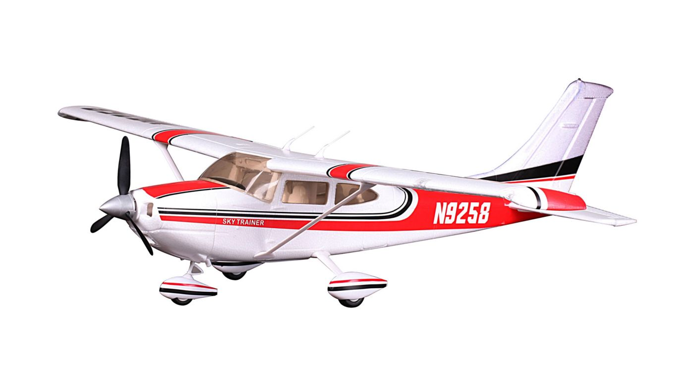 Image for Sky Trainer 182 PNP, 1100mm: Red from HorizonHobby