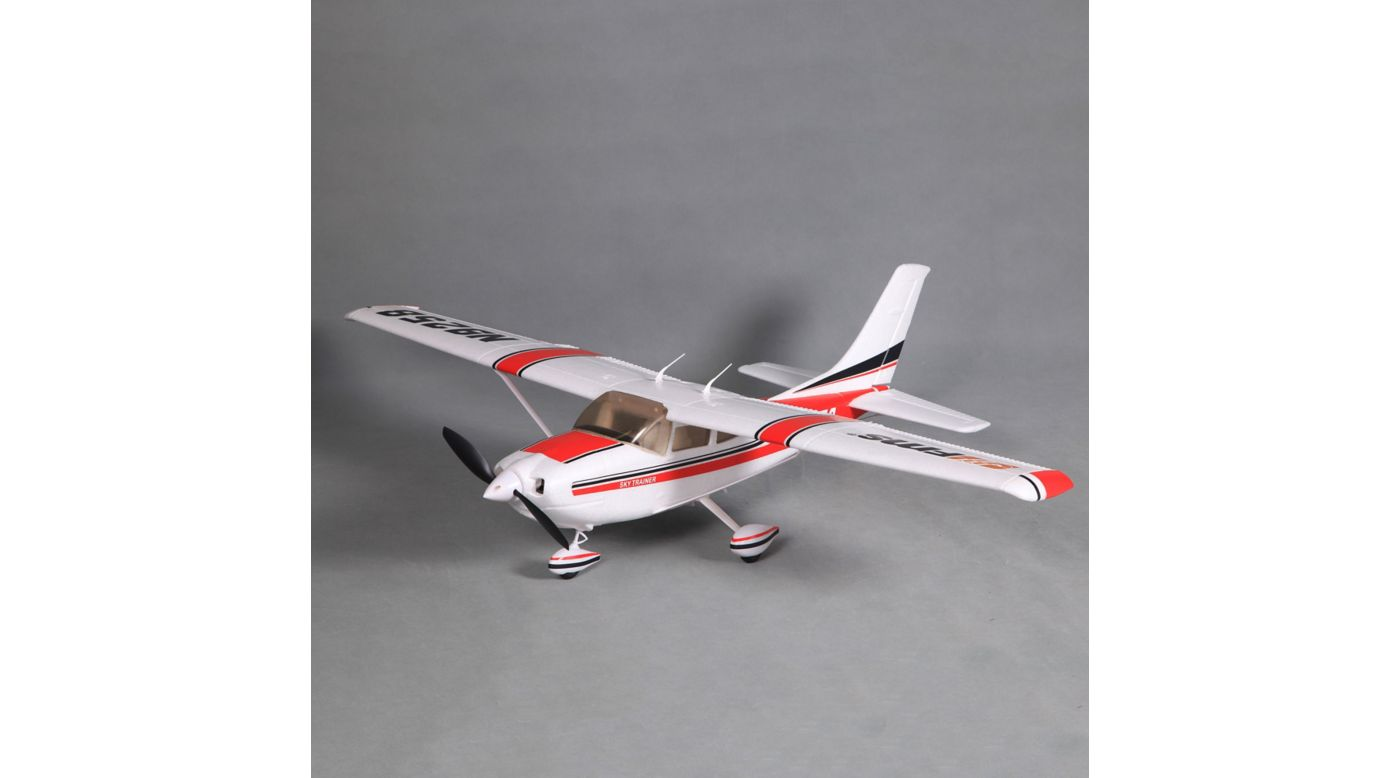 Image for Sky Trainer 182 V2 RTF, 1010mm: Red from HorizonHobby
