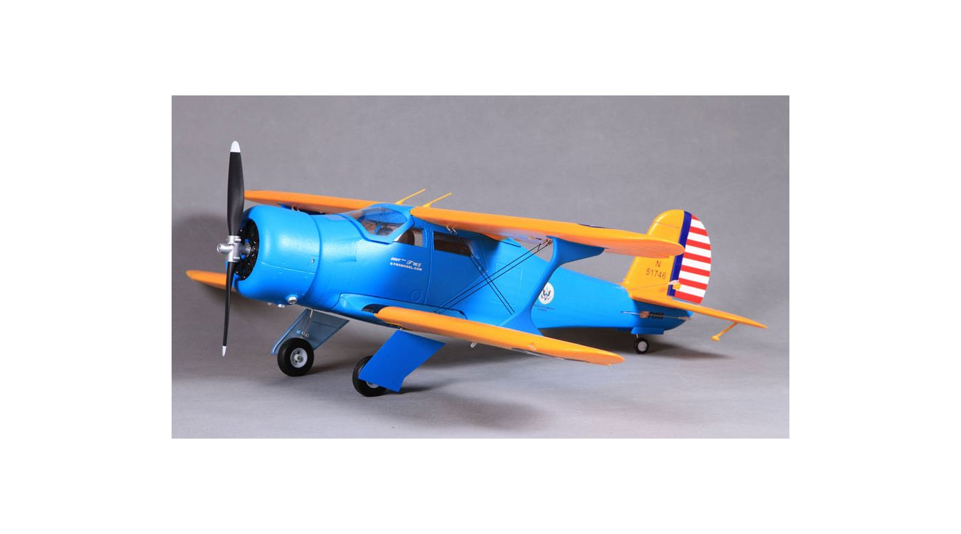 Image for Staggerwing PNP, 1100mm: Blue from HorizonHobby